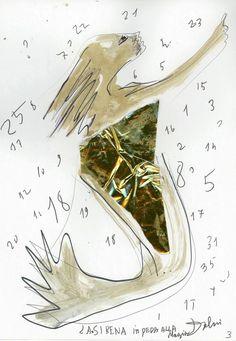 Rusalka attraverso lo sguardo di Riccardo Dalisi - La sirena in preda alla magia