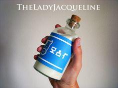 Zelda Potion or Milk Bottle Large by TheLadyJacqueline on Etsy, $18.00