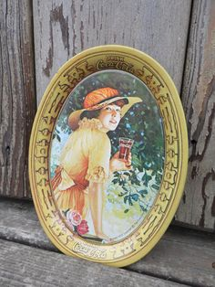 FREE SHIPPING // CocaCola tin TRAY by OldSteamerTrunkJunk on Etsy