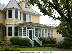 Someday I will have a yellow Victorian house