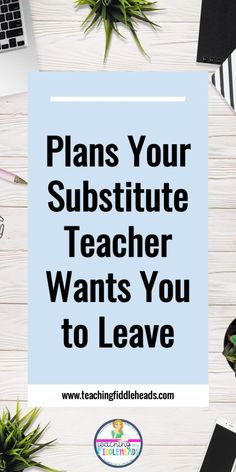 When you have to be gone from your classroom, planning for a substitute can feel worse than actually being gone. Get helpful tips on how to plan for a sub and what they really want to know. Plus get a FREEBIE sub plan!