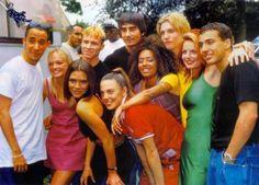 ok, los '90 no son los '80... pero como los amaba.    #spicegirls #backstreetboys