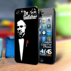The Godfather Iphone 4 case | TheYudiCase - Accessories on ArtFire