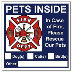 Surviving a Fire   Smart Fire and Electrical Tips To Keep Your Pets Safe