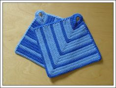 Potholder Pattern: Scroll for English