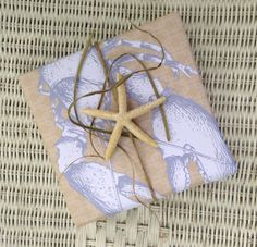 Beach starfish Bridesmaid gift package by ilPiccoloGiardino,