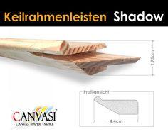 Shadow Keilrahmenleiste Floating Shelves, Home Decor, Wedges, Frame, Homemade Home Decor, Decoration Home, Home Decoration