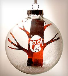 Owl Ornament! Love it :) #ornament #owl #holiday
