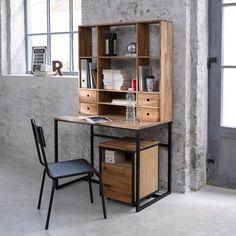 Surf op de vintage spirit van de industriële trend en kies voor dit bureau met…