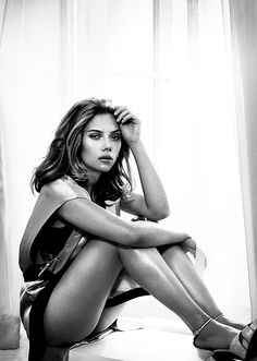 Scarlett Johansson Fashion Editorial Photography