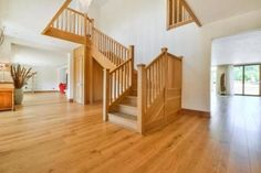 5 bedroom detached house for sale in Middle Street, Nazeing, Essex, - Rightmove. Painting Wallpaper, Foyers, New Builds, Staircases, Detached House, Property For Sale, Stairs, Flooring, Bedroom