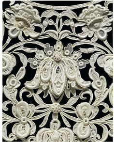 Viennese lace.  Look at the detail!!!