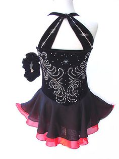 Beautiful Figure Ice Skating Dress Costume Large- Child L in Sporting Goods, Winter Sports, Ice Skating   eBay