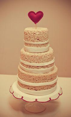 Rice Krispies Wedding Cake...Cake #2?