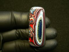 Genuine 1980's Fordite Cabochon Hand Cut in by ForditeFanaticsUK