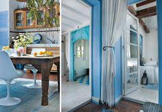 marokkanischer stil - Interior Design in blau und weiß …   Pinteres…