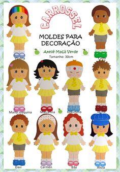festa infantil novela carrossel SBT - Pesquisa Google