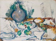 Paul Cézanne, 'Still Life with Water Jug' c.1892–3
