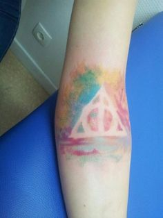 this is gorgeous. making me totally rethink how i want my deathly hallows
