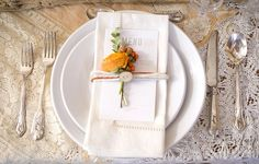 Snowed-in, a DIY Winter Wedding Idea and a Stylized Breakfast Sweets Table Simple Bridal Shower, Tropical Bridal Showers, Brunch Buffet, Brunch Menu, Rustic Napkins, Linen Napkins, Breakfast Photography, Fair Photography, Wedding Photography