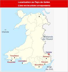 Commanderies templières au Pays de Galles, Angleterre