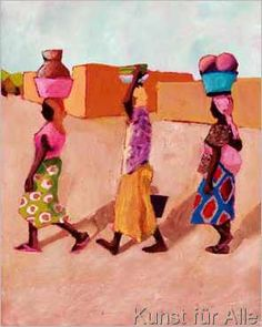 Kalou - Drei Afrikanische Frauen
