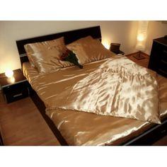 Lenjerie de pat, bej auriu Bed, Furniture, Home Decor, Quilts, Decoration Home, Stream Bed, Room Decor, Home Furnishings, Beds