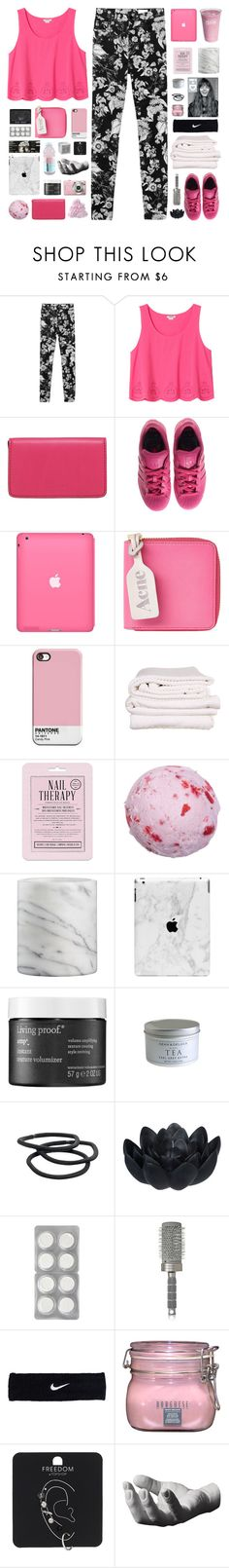"""three more days :)"" by via-m ❤ liked on Polyvore featuring Monki, Lodis, adidas, Acne Studios, Brahms Mount, Love 21, Crate and Barrel, Living Proof, Goody and Sia"