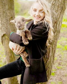 Evanna Lynch photographed by Toby Shaw for Vegan Life (June 2017)