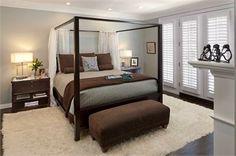 Romantic Contemporary Bedroom by Susan Jay Freeman