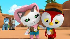 Sheriff Callie and Deputy Peck. (Is it weird to ship a cat with a woodpecker? Oh well, I ship them anyway!)
