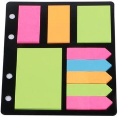 Eagle Assorted Sticky Notes and Page Markers ($5.70) ❤ liked on Polyvore featuring home and home decor