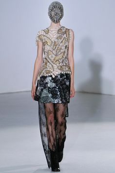 Maison Martin Margiela Fall 2012 Couture Collection Slideshow on Style.com