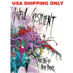 AWFUL / RESILIENT BY ALEX PARDE - USA SHIPPING ONLY : ZeroFriends.com