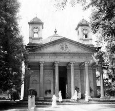 La capilla del asilo de la Fundación Mier y Pesado, en Tacubaya, 1962