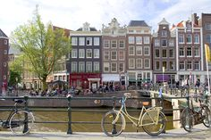 Amsterdam ~ bikes, canals, Van Gogh and Ann Frank ~  I walked the streets late at night and never felt unsafe.