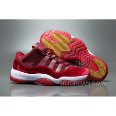 Air Jordan 11 Velvet Heiress Low Burgundy Men New Release GpFJRm 09c1a5ba7