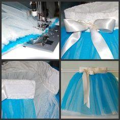 How To Make A Tutu Skirt Using A Sewing Machine
