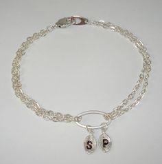 Personalized bracelet Initial bracelet by DazzlingJewelryBox, $22.00