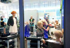 präsentiert von www.my-hair-and-me.de #hairshow #backstage #women #red #hair #rote #haare #locken #curls #curly #lockig