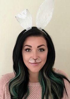 bunny makeup, maquiagem coelho, coelhinha maquiagem, carnaval, maquiagem carnaval
