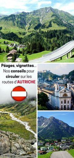 Bienvenue en Autriche, le pays de Mozart et de la Sachertorte ! Sachez que la vignette est obligatoire pour y circuler ! Nous vous indiquons aussi les tarifs et les points de vente où acheter cette fameuse vignette. Conseils et astuces pour votre road trip en Autriche sont dans cet article. #Autriche #Voyage #RoadTrip #Routes #Péages .