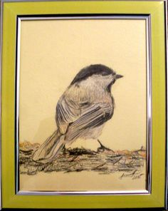 Vrabac 15x20cm karton, drvene bojice