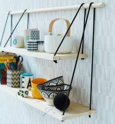 Hanging Cord Shelves