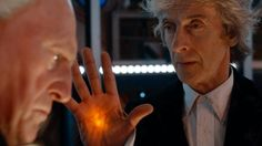 The First Doctor Enters The Twelfth Doctor's TARDIS | A sneak peek of Twice Upon A Time, this year's Doctor Who Christmas Special starring Peter Capaldi as the Doctor, David Bradley as the First Doctor, Pearl Mackie as Bill Potts and Mark Gatiss as the Captain.