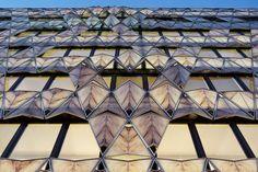 Origami Office Building - Paris, France, 2011 Manuelle Gautrand www.manuelle-gautrand.com via designboom.com  for #form
