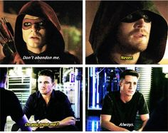 Arrow - Oliver and Roy #3.6 #Season3 <3
