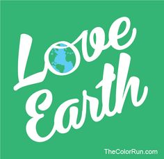 Unplug, go outside, and love your earth. Happy Earth Day!    #Happiest5K