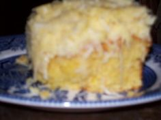 7-up cake with pineapple/coconut butter icing :)