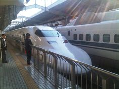 Riding the bullet train would be so cool
